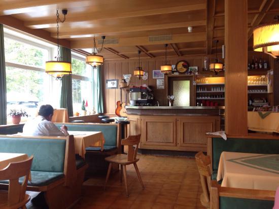 Gasthof Brückele: La sala