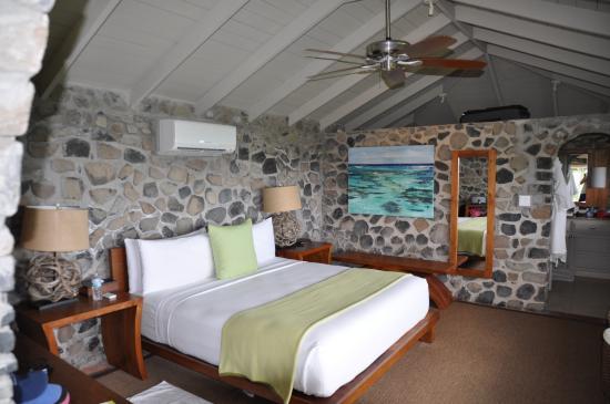 Petit St. Vincent Resort: Unique large, private, stone cottages