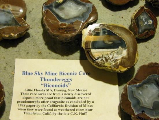 Basin Range Volcanics Geolapidary Museum Deming