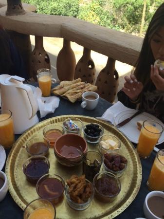 restaurant dades maroc