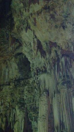 Gauteng, África do Sul: Stalactites and stalagmites