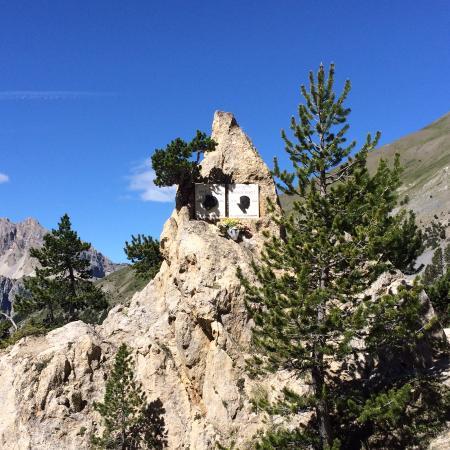 Col d'Izoard : Stele Coppi Bartali