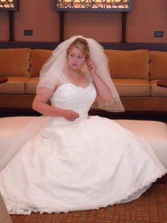 The Lincoln Marriott Cornhusker Hotel: Bride in the loft