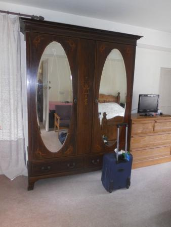 Hobsons House: Lovely wooden wardrobe