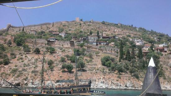 Anthos Garden: Аланья, Boat Trip. Выглядывая за борт)