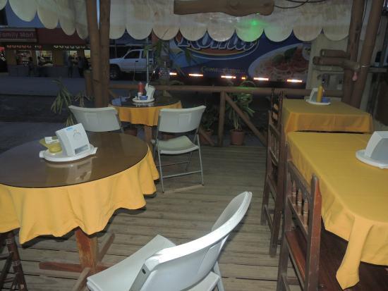 Cafeteria Monka: Terraza..