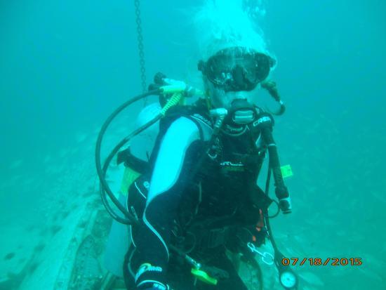 Diver's Den: having fun