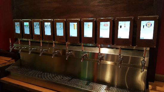 Self Serve Beer Wall Picture Of Stirling Amp Mull