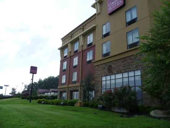Comfort Suites Kodak: Leaving