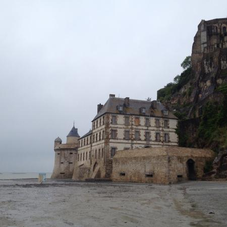 view from rart picture of fortifications du mont michel mont michel tripadvisor