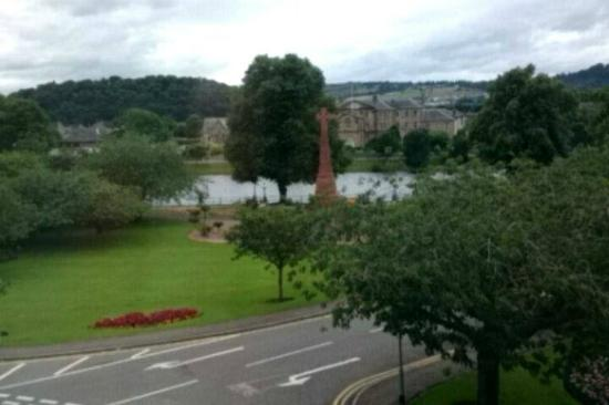 Moray Park Guest House : View from room 6....sorry about the poor quality!