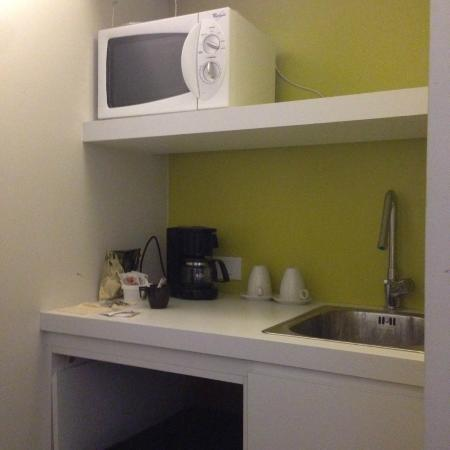 Parkhotel Roeselare: Small 'kitchen' area