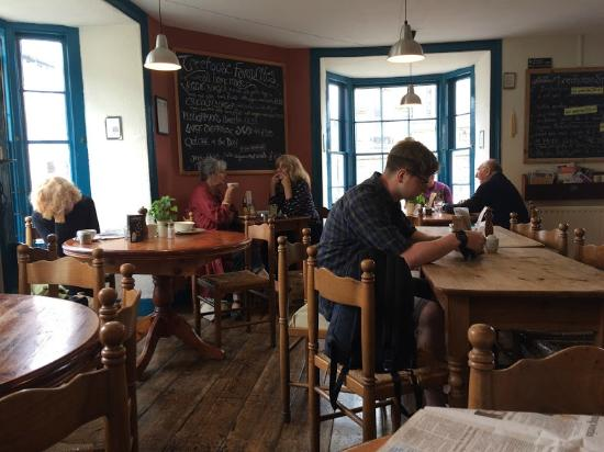 The Treehouse Organic Restaurant: Inside the Treehouse, Aberystwyth