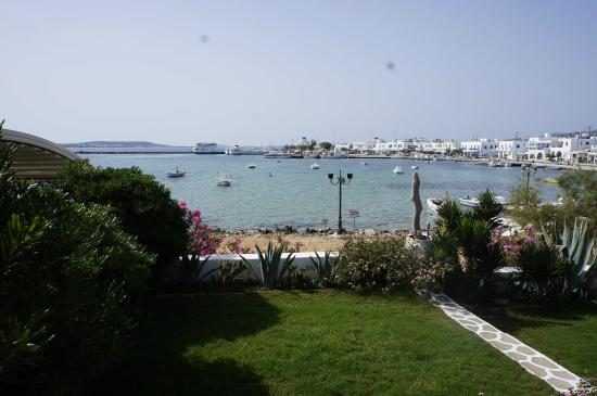 Artemis Hotel: The view from our veranda