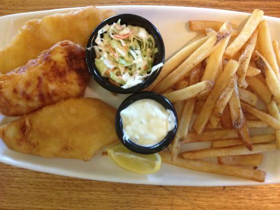 Fish and chips picture of applebee s grill bar for Applebee s fish and chips