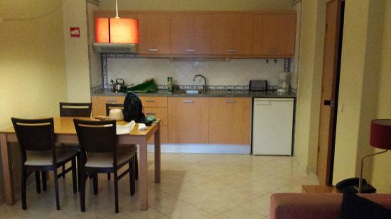 Alagoamar Hotel Apartamentos : Cocina