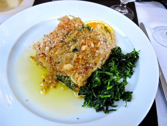 Colher d'pau Taberna: Chef's daily special - Cod dish.