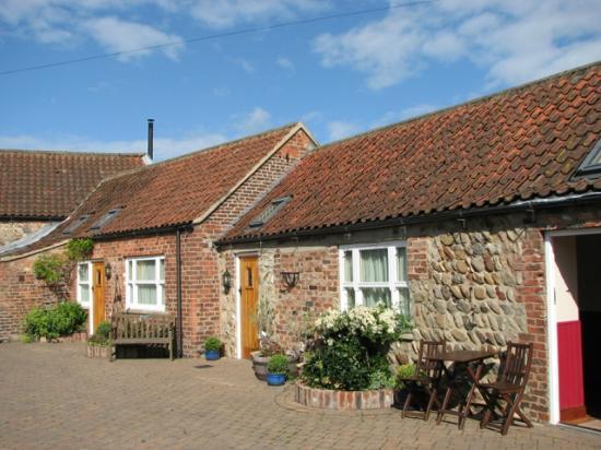 Village Farm Bed & Breakfast: Rooms around the courtyard