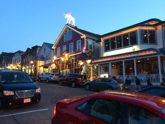 Mount Desert Island: Bar Harbor at Night