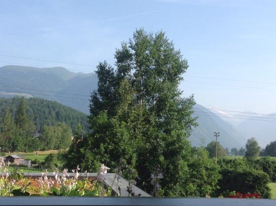 Rubner's Hotel Rudolf: Il panorama dalla stanza 119