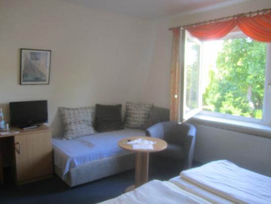 Hotel Garni free Steil: la chambre 10