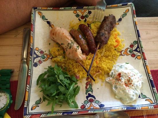 Beah: Mixed kebabs