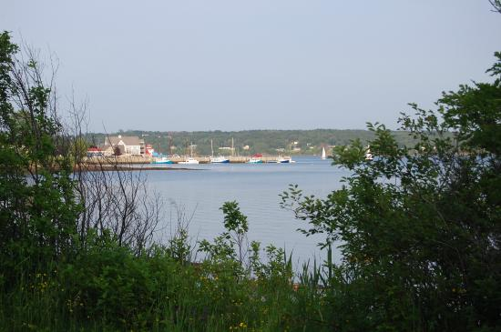 View of Pictou  along waterfront