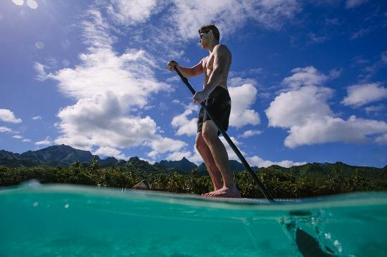 Sea Change Villas: Enjoy Stand Up Paddleboarding in the shelter of our lagoon