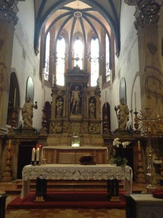 Basilica di Santa Maria dei Servi Bologna : алтарь