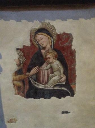 Basilica di Santa Maria dei Servi Bologna : фрагмент фресок