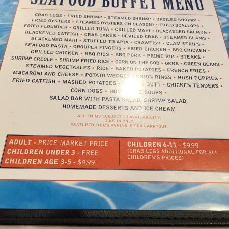 Hook S Calabash Seafood Myrtle Beach Sc Prices