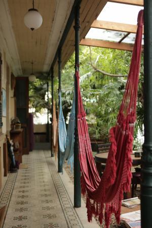 Pousada Casa Aurea Boutique: Courtyard