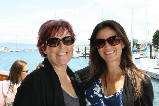 San Francisco Bay Boat Cruises/Wine Tasting on the Bay: Besties and wine - a perfect combination!
