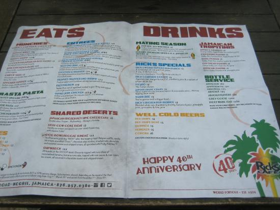 Rick S Cafe Negril Prices