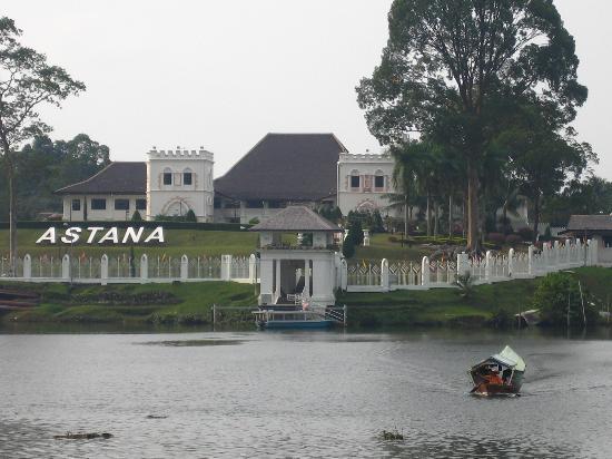The Astana beside the Sarawak River