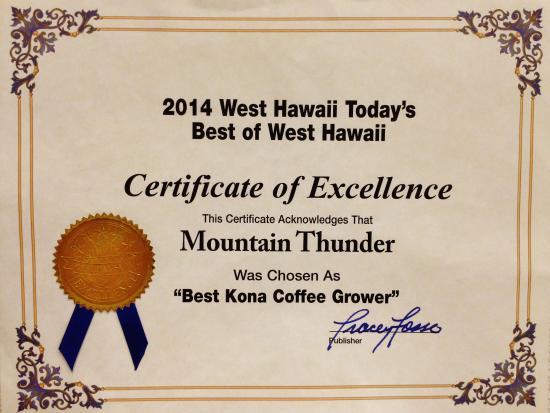 Photo of Farm Mountain Thunder at 73-1944 Hao Street, Kailua-Kona, HI 96740, United States