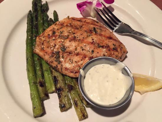 Steak Street : Salmon, chicken, roast pork.