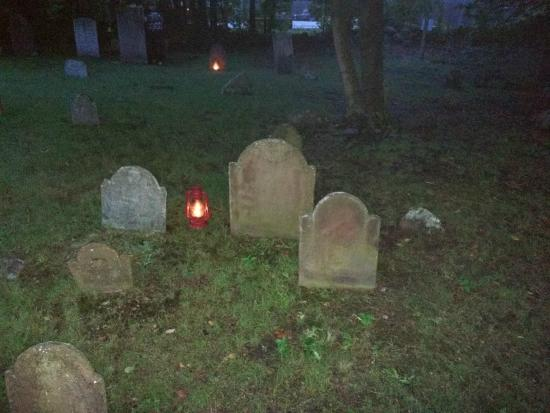 Seaside Shadows Haunted Tours : Whitehall Cemetery