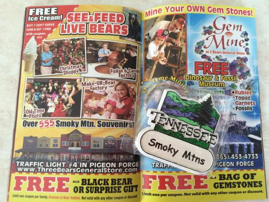 Monster coupon book pigeon forge tn