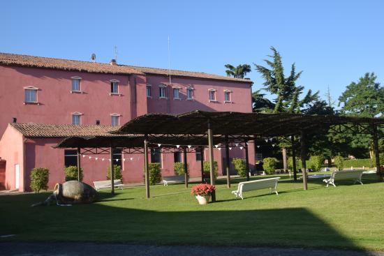 Hotel San Camilo: jardin