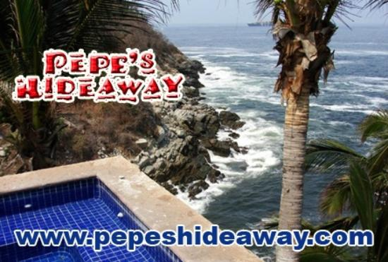 Pepes Hideaway: View from Bungalow