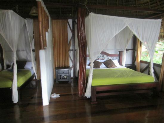 Napo Wildlife Centre: Bedroom of cabana No.4