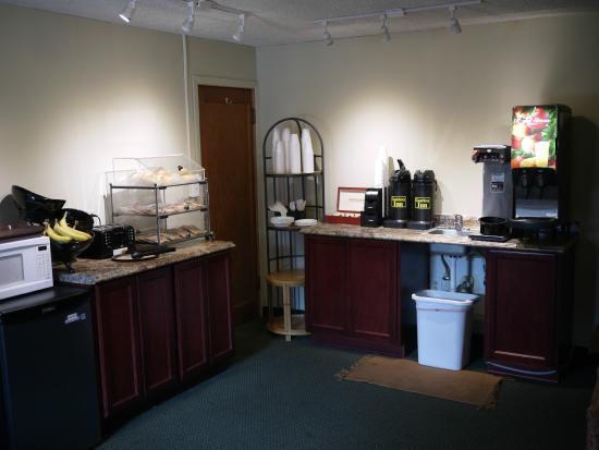 Eugene, Oregón: The breakfast room.