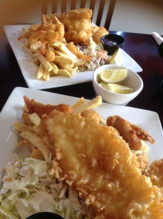 Salty's Fish & Chips: Fantastic food