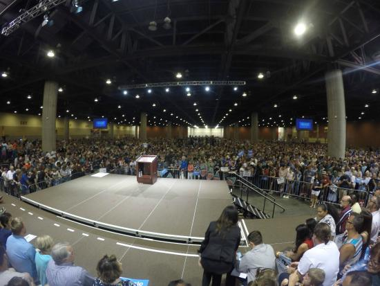 Phoenix Civic Plaza Convention Center: Lower Level holding 12,000 people with room to spare