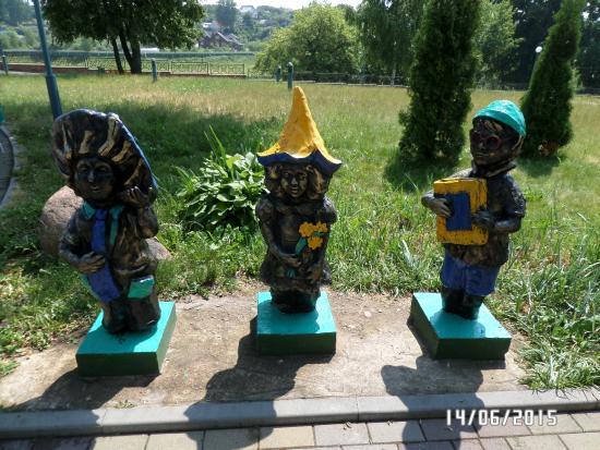 Children Park Skazochnaya Strana: незнайка с друзьями