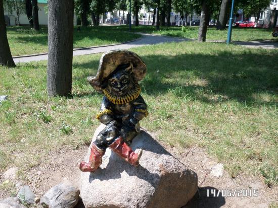 Children Park Skazochnaya Strana: кот в сапогах