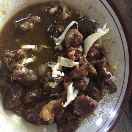 Sate Kambing dan Tongseng - Picture of Sate Kambing Mbok ...