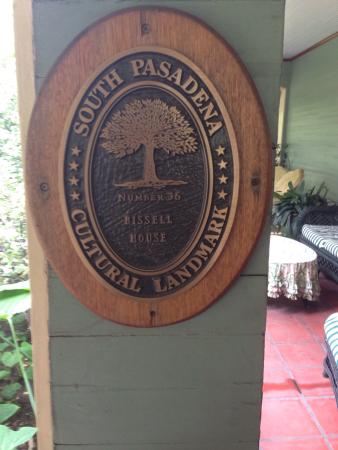 South Pasadena, Калифорния: The Bissell House Bed & Breakfast