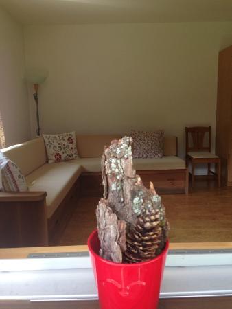 sport-lodge klosters: Famililenzimmer Gartenblick